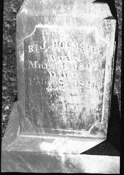 Burrell J Holmsley