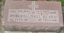 Roberta <i>Thill</i> Clark
