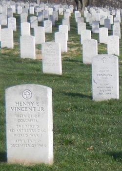 Henry E Vincent, Jr
