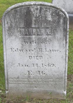 Hannah N. <i>Wolcott</i> Lane
