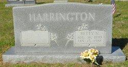 Betty <i>Neal</i> Harrington