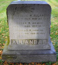 Susan R <i>Miller</i> Allandar