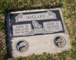 Alice M McClard