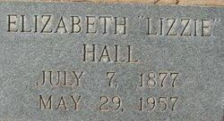Mary Elizabeth Lizzie <i>Hamilton</i> Hall