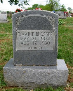 Edith Marie <i>Wilson</i> Blosser