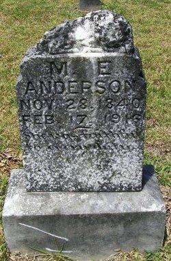 Alizza Martha <i>E.</i> Anderson