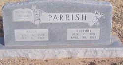 Anna Mabel <i>Ferguson</i> Parrish