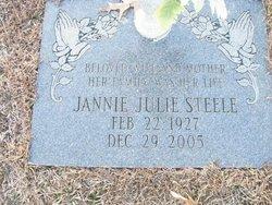 Jannie Julie <i>Coleman</i> Steele