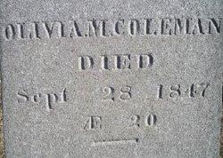 Olivia M. Coleman