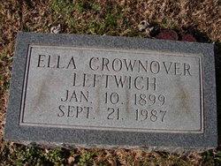 Ella Mitchell <i>Crownover</i> Leftwich