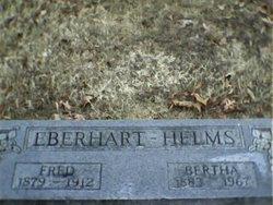Bertha <i>Jent</i> Eberhart-Helms