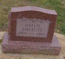 Hallie <i>Basinger</i> Amstutz