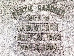 Alberta Bertie <i>Gardner</i> Wilson
