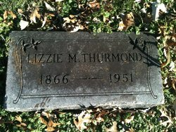 Lizzie M Thurmond