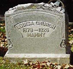Louisa Jane <i>Pitcock</i> Church
