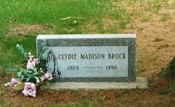 Clydie Catherine <i>Crumbaker</i> Madison Brock