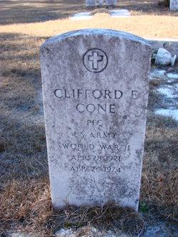 Clifford E Cone