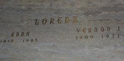 Edna June <i>Barnes</i> Lorenz
