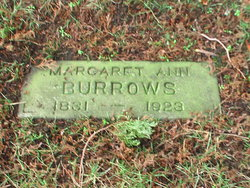 Margaret Ann <i>Decker</i> Burrows