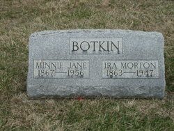 Minnie Jane <i>Miller</i> Botkin