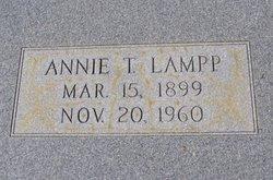 Annie Jane <i>Tapley</i> Lampp