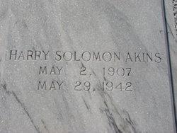 Harry Solomon Akins