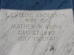Leila Emeline <i>Anderson</i> Akins
