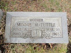 Minnie Mae <i>Robinett</i> Tuttle