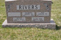 Hazel M <i>Rivers</i> Fite