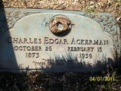 Charles Edgar Ackerman