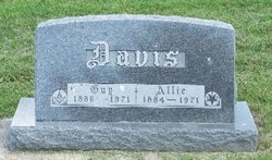 Almirus Laura Allie <i>Hawley</i> Davis