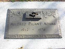 Mildred <i>Pilant</i> Adams