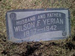 Wilson F Yerian