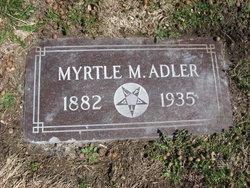 Myrtle Cleveland <i>Reed</i> Adler