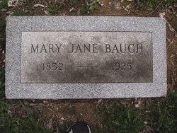Mary Jane Mollie <i>Burkett</i> Baugh