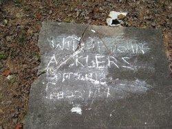 Willie John Acklers