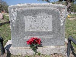 Hazel <i>Hess</i> Griffin