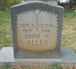 Edith Parks <i>Hill</i> Allen