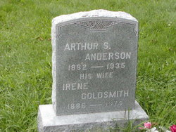 Irene <i>Goldsmith</i> Anderson