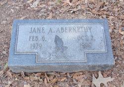 Jane A. Abernethy