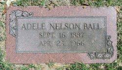Adele <i>Nelson</i> Ball
