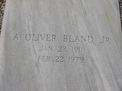 A Oliver Bland, Jr
