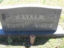 Lessie D <i>Mccutchen</i> Baker