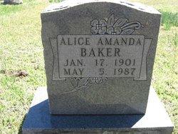 Alice Amanda Baker