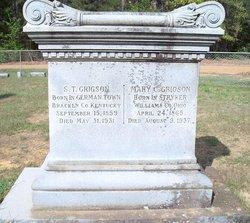 Mary Catherine <i>Smith</i> Grigson