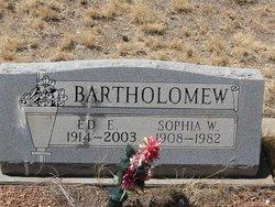 Edward Ellsworth Bartholomew