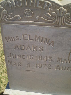 Mrs Elmina <i>Kenyon</i> Adams