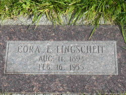 Cora Elizabeth <i>Davis</i> Lingscheit