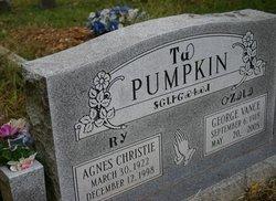 Agnes <i>Christie</i> Pumpkin
