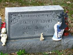 Oakley P Adams